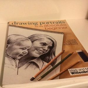 Drawing Portraits for Beginners Guide Book